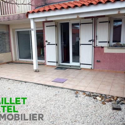Grand pavillon + terrasse – Coudalère