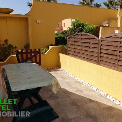 Appt T2 – Barcarès (27m²) + terrasse