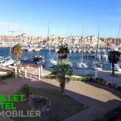 T2 avec terrasse – Vue sur Le Port